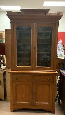 Cron, Kills & Co. Antique Hutch Purchased June 3rd 1889