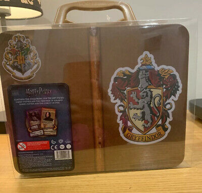 Harry Potter Gryffindor Top Trumps Collectors Tin Card Game