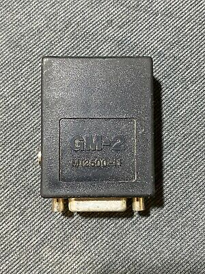 Snap-on Scanner Adapter Adapter MT2500-11 GM-2 (used) Free Ship