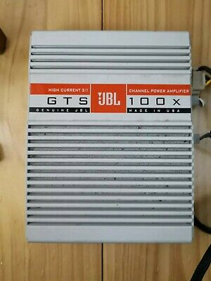 JBL GTS 100 2/1 Channel Automotive Power Amplifier