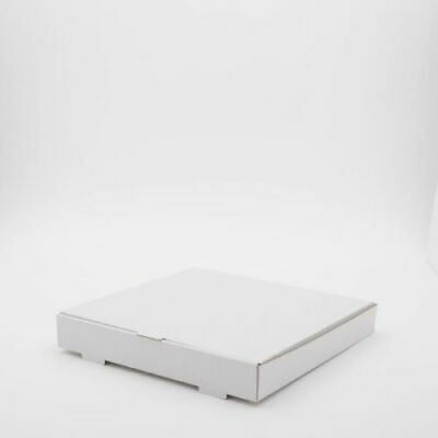 100 x 12 inch WHITE Pizza Boxes, Takeaway pizza Box, Strong Quality Postal Boxes