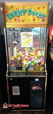 Lucky Ducky Arcade Claw Machine Prize Redemption Game