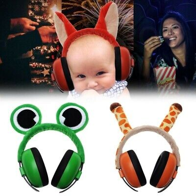 Baby Earmuffs Noise Cancelling Animal Styled Hearing ProtectionHeadphones