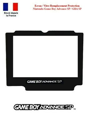 Ecran Vitre Remplacement Autoadhésif Nintendo GameBoy Game Boy Advance GBA SP