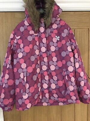 Muddy Puddles Ski Jacket Age 9-10 Excellent Condition