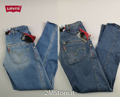 LEVI'S jeans LEVIS ENGINEERED 137 denim stone wash Vintage style shoecut slavato
