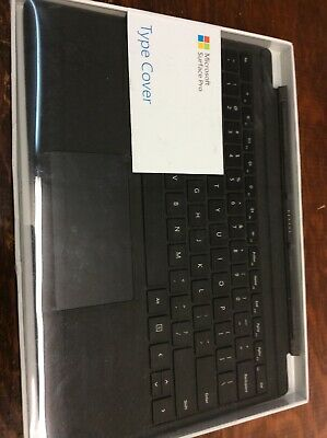 Microsoft Surface Pro Type Cover Black FMM-00001 Genuine