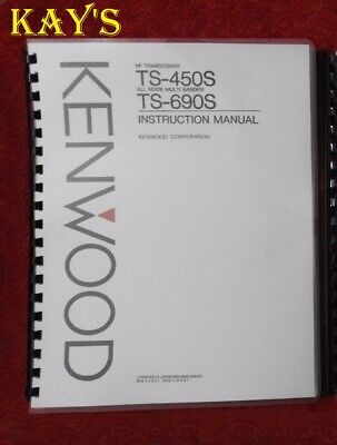 Kenwood TS-440S Service /& Operating Manuals ON 32 LB PAPER w//The Heavier Covers!