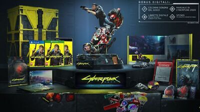Cyberpunk 2077 Collector's Limited Edition PC NUOVO PREORDER VERSIONE ITALIANA