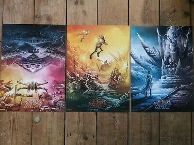 Star Wars The Rise Of Skywalker Odeon IMAX Poster 2, 3, & 4 cinema art
