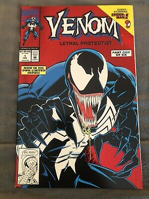 Venom Lethal Protector #1 First Venom Solo Book Nm/8.5
