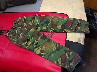 Green Brown DPM Camouflage boys trousers by Mil Com. nicely worn in