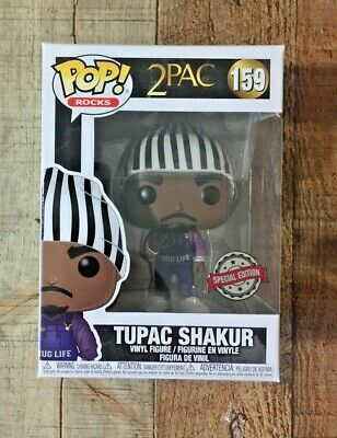 FUNKO POP! Tupac Shakur THUG LIFE IN OVERALLS 2 PAC Special Edition #159