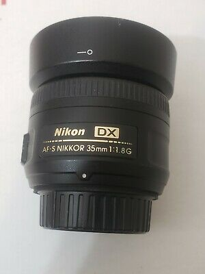 Nikon AF-S DX Nikkor 35mm f/1.8 G Lens Excellent free shipping