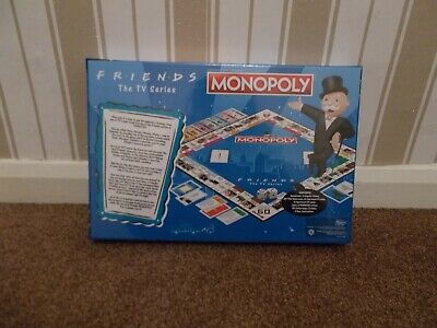 Friends The TV Series Monopoly 2018 Hasbro Board Game Factory - NEW & Sealed