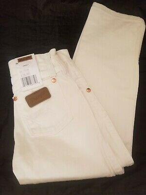 Wrangler Original Fit Jean, Cowboy Cut, WHITE, Boys Size 4 SLIM