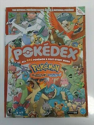 The Official Pokemon Kanto Guide Pokedex Heartgold & Soulsilver Version Vol 2
