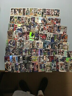Texas Rangers Inserts Card Collections Insert Refractor Numbered Colored  130+