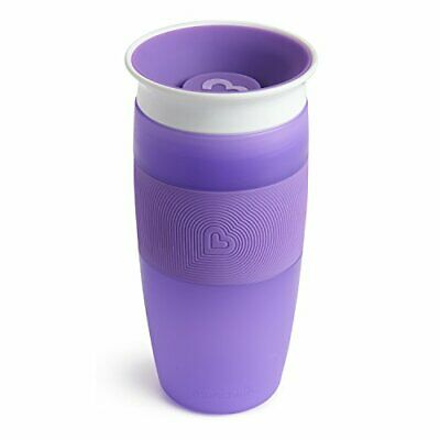 Munchkin Miracle 360 Sippy Cup, Purple, 14 Ounce Purple
