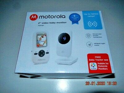 Motorola 2'' Video Baby Monitor -Digital Wireless - Mbp481- New