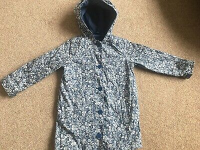 Girls Gap Fleece Lined waterproof raincoat age 5yrs