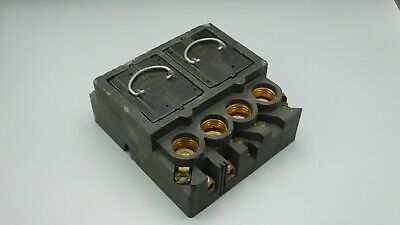 Federal Pacific 120/240Volt 60Amp Fuse Panel Interior Block Assembly