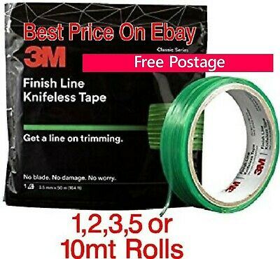 3M  knifeless tape 3m finish line car wrapping tape No-Cut 1 to 10m Rolls