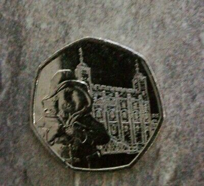 Paddington Bear At the Tower Of London 50p Fifty Pence Coin 2019