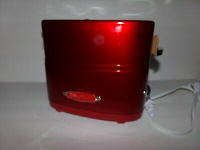 Hot Dog Toaster Pop Up Cooker Retro Series Red NWOB