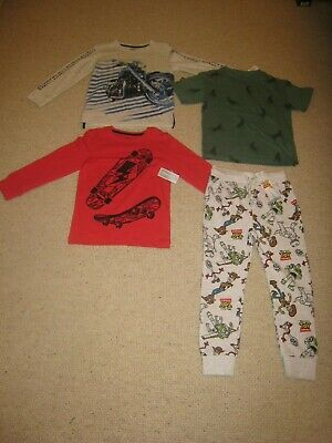 BNWT Boys Bundle Age 5-6 - Toy Story Joggers M&S T-Shirt Debenhams Bluezoo Tops