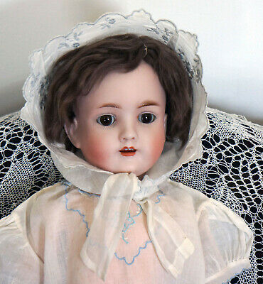 Adorable Walkure Antique Bisque Doll by Kestner / Kley and Hahn w/ Orig. Wig!