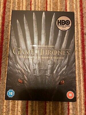 GAME OF THRONES - THE COMPLETE 8TH SEASON- The Final Season
