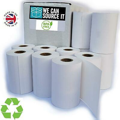 57x40 Thermal PDQ Receipt Paper Credit Card Till Roll Worldpay Ingenico BPA FREE