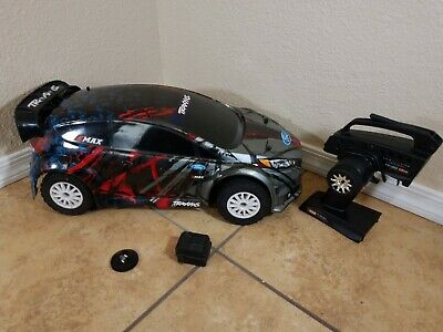 Traxxas 1/10 Ford Fiesta Rally AWD lipo Car 74054-4 brushless 2.4ghz 70mph+ 4s