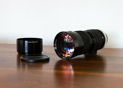 Vivitar Series 1 90-180mm f4.5 Flat Field Zoom Lens - Telephoto - Canon FD Mount
