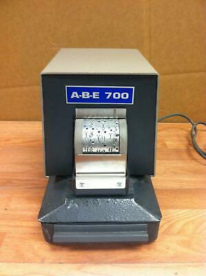 Stromberg ABE 700 Perforator Date stamp WORKING FREE SHIPPING