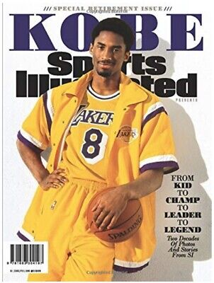 Brand New!! Sports Illustrated Kobe Bryant Special Retirement Tribute Issue