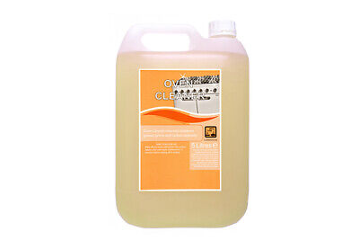 OVEN CLEANER Heavy Duty Commercial Grade Professional Strength 5L Bottle