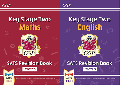 NEW KS2 SATS English & Maths - Stretch Revision Set by CGP Books