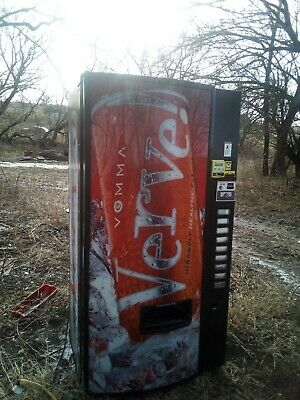 Refurbished Dixie Narco Vending Machine With Bill Exchanger And Credit Card...