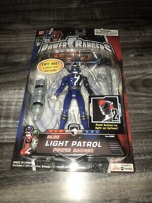 Power Rangers SPD Blue Ranger Light Patrol Figure Bandai NEW 2005