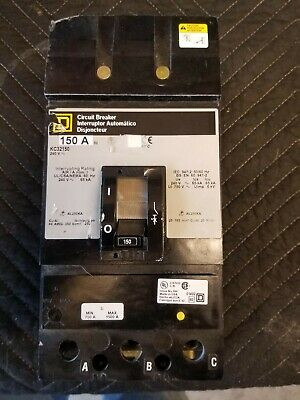 Square D KC 32150 3 pole 240 volt breaker