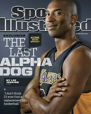 Kobe Bryant Los Angeles Lakers Sports Illustrated cover photo - select size