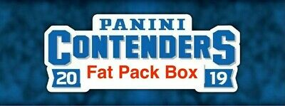 2019/20 Panini Contenders Basketball Retail Fat Pack Factory Sealed Box Zion