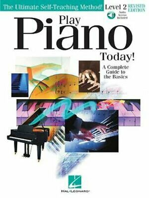 Instructional Book and Audio NEW 000298773 Play Piano Today Level 2 Revised