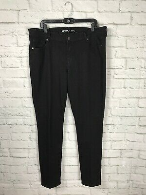 OLD NAVY Womens Black Original Skinny Jeans Pants Size 14 Long