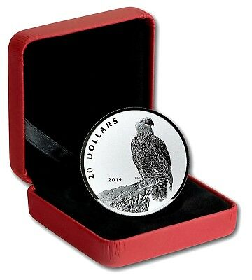 2019 The Valiant One: Bald Eagle 1 Oz .9999 Pure Proof Silver Coin - NO RESERVE!