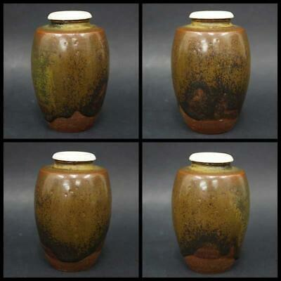 Tea Caddy Ceremony Chaire Sado Japanese Traditional Crafts t731