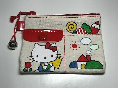 Hello Kitty Vintage SANRIO Coin Purse 1976 - Rare