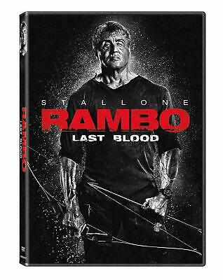 Rambo Last Blood (DVD, 2019) Sylvester Stallone  New & Sealed Free Shipping